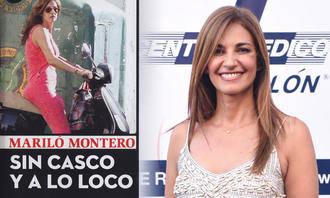 Mariló Montero en moto, sin casco y a lo loco : ella es así...