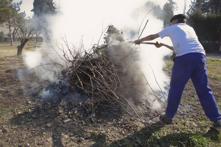 Los agricultores de Guadalajara piden poder quemar los rastrojos para evitar plagas