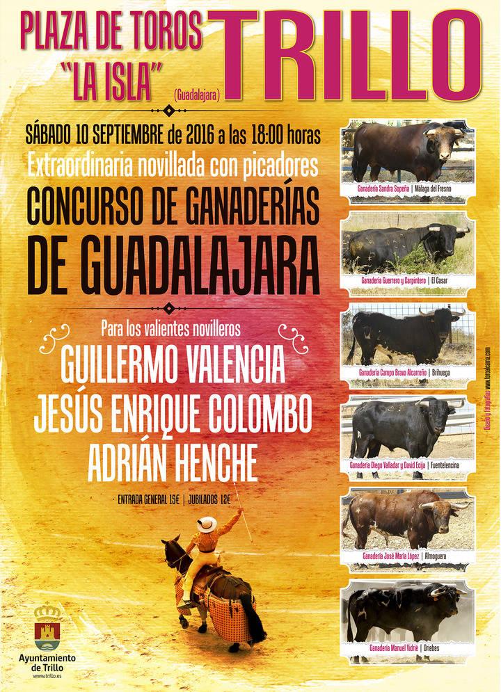 Trillo acogerá el primer Concurso de Ganaderías que se celebra con novillos 100% de Guadalajara