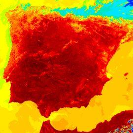 38 provincias españolas estarán este martes, 6 de septiembre, en alerta por altas temperaturas