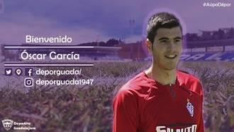 Óscar García, fuerza y gol para el ataque morado