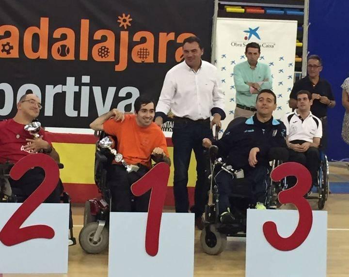 Diputación colabora en el XI Open de boccia Ciudad de Guadalajara