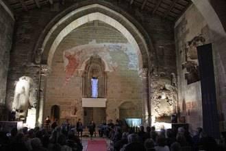 Un concierto del Grupo Orffeo cierra la temporada cultural de la Iglesia de Santiago de Sigüenza