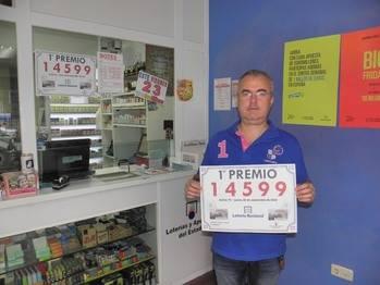 Un Primer Premio de la Loter�a Nacional del Jueves dotado con 300.000 euros cae en Guadalajara capital