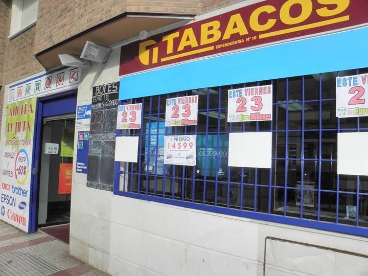 Un Primer Premio de la Lotería Nacional del Jueves dotado con 300.000 euros cae en Guadalajara capital
