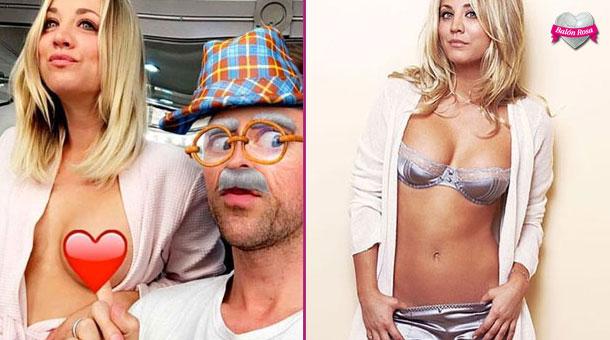 La Penny De Big Bang Theory La Lía En Las Redes Con Su Topless