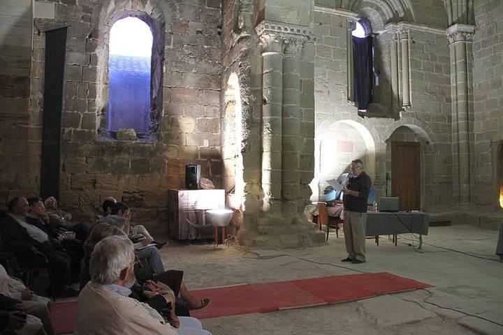 Pedro Olea recordó la figura del obispo Don Rodrigo (¿-1221) en la seguntina Iglesia de Santiago