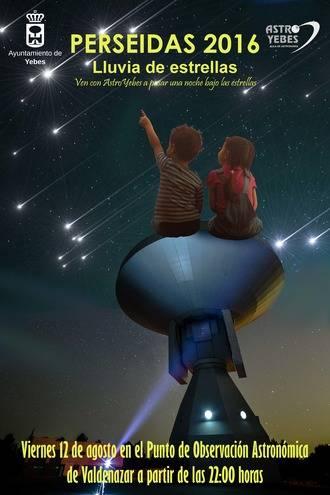 El Punto de Observación Astronómica de Valdeluz se estrena este viernes con la lluvia de las Perseidas