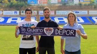 Óscar García, Jonás Basso y Dani Ortigosa lucharán con el Dépor para conseguir los objetivos