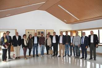 Tamajón acoge una reunión de Vicepresidencias de la Federación de Asociaciones y Municipios con Centrales Hidroeléctricas y Embalses
