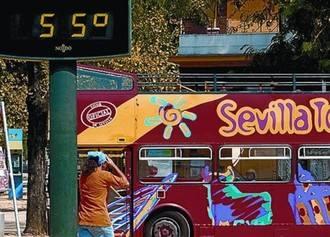 Lo nunca visto: récord histórico de calor en Sevilla este mes de septiembre, 44,6ºC
