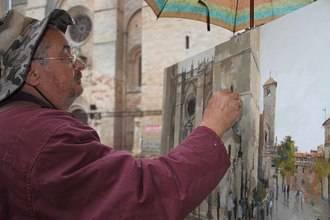 La XVIII Edición del Concurso de Pintura Rápida de Sigüenza ya tiene ganadores