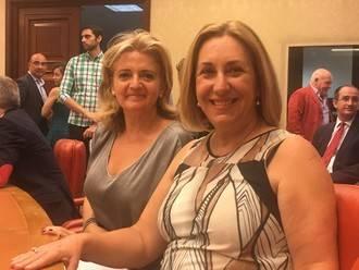 Silvia Valmaña, en la Diputación Permanente del Congreso