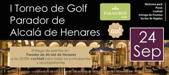 I Torneo de Golf Parador de Alcalá de Henares, deporte y bienestar en un marco incomparable