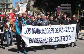 Presentan, esta vez con acuerdo de las partes, un ERE que afectará a 209 trabajadores de Heliocolor