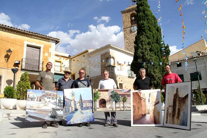 'La Torre del reloj' de Behsad Arjomandi gana el primer premio del VII Concurso de Pintura Rápida Villa de Almonacid