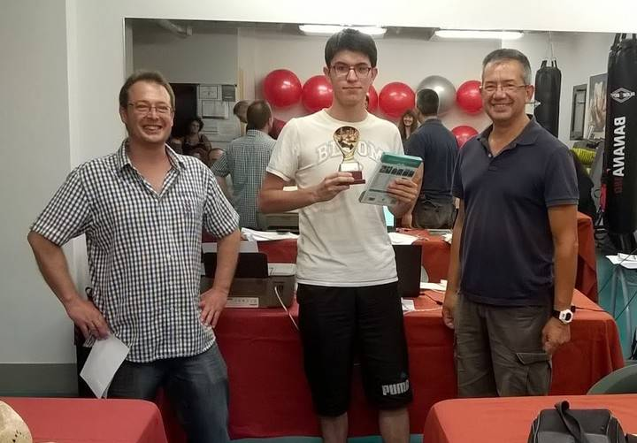 Martín Rodríguez gana el V Open de Ajedrez 'San Bartolomé' de Yebes que congregó a 27 jugadores