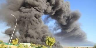 """Guarinos: """"El incendio de Chiloeches pone al Gobierno de Page bajo sospecha en relación con los residuos tóxicos"""""""