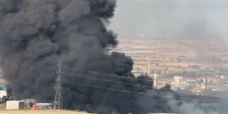 Denuncian que ya han tenido lugar los primeros problemas de salud en vecinos por el incendio de Chiloeches
