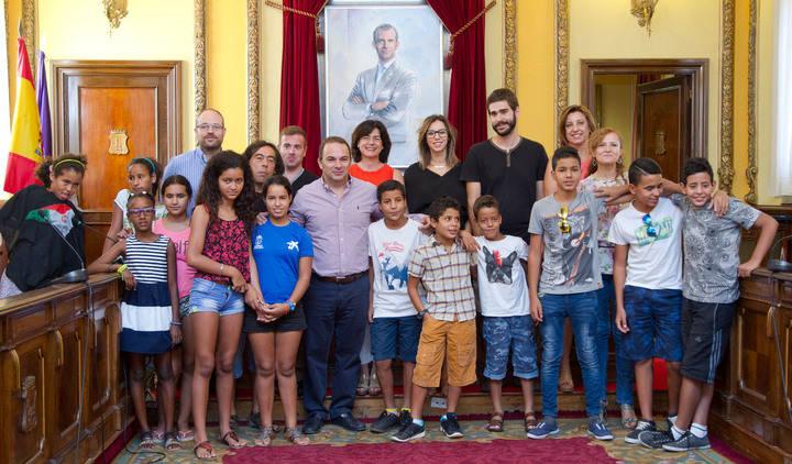 """Despedida a los niños saharauis que han pasado en Guadalajara sus """"Vacaciones en paz"""""""