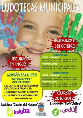 Guadalajara pone nuevamente en marcha sus ludotecas en inglés para niños de entre 3 y 12 años