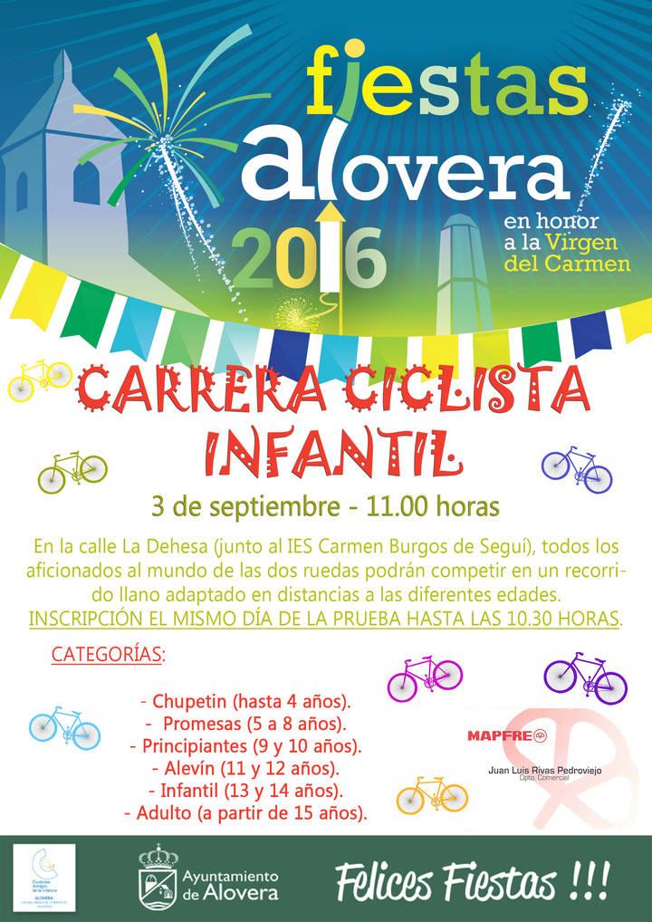 La bicicleta tendrá un papel estelar en las fiestas de Alovera