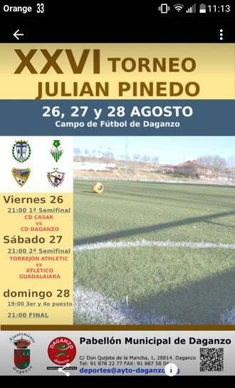 El Atlético Guadalajara disputará este fin de semana el XXVI Torneo Julián Pinedo