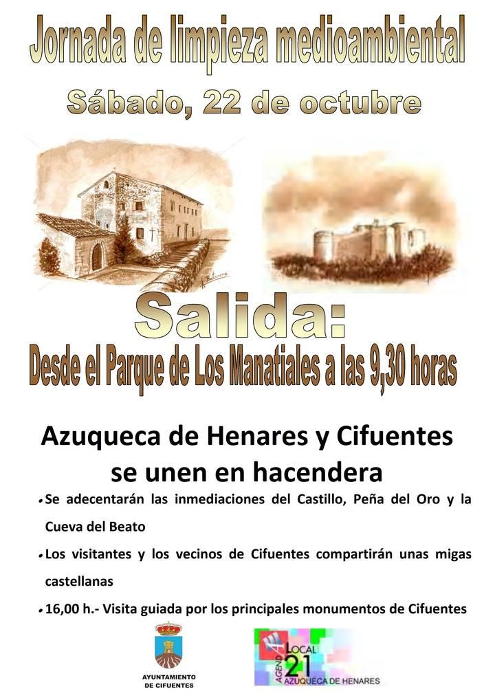Azuqueca y Cifuentes se unen en hacendera