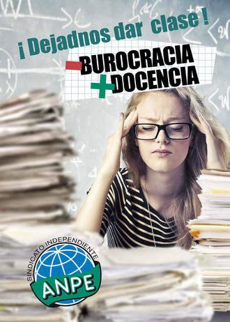 """Los profesores de Castilla-La Mancha gritan """"Menos burocracia y más docencia"""""""