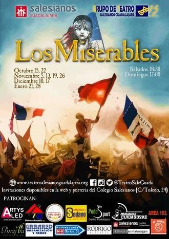 'Los Miserables, el musical', en Salesianos Guadalajara