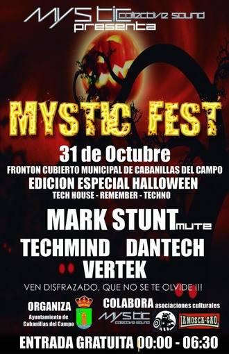 """El techno llenará la Noche de Difuntos en Cabanillas con la celebración del primer """"Mystic Fest"""""""