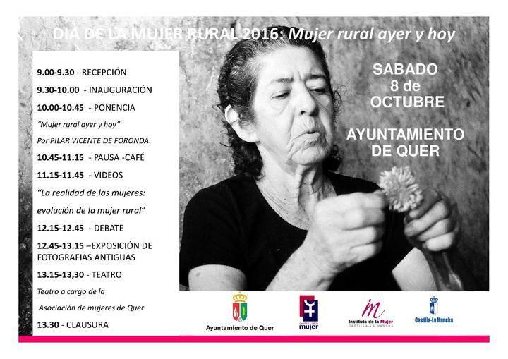 Quer acoge la celebración comarcal del Día de la Mujer Rural