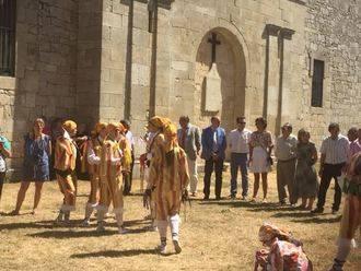 El presidente de la Diputación asiste a la fiesta de la Virgen del Pinar de Galve de Sorbe