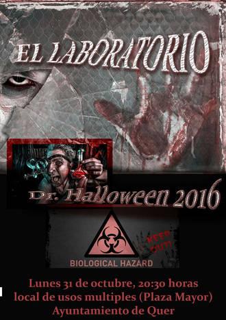 Quer se prepara para vivir la noche de Halloween, con taller de calabazas, yincana y… el 'Laboratorio del Terror'