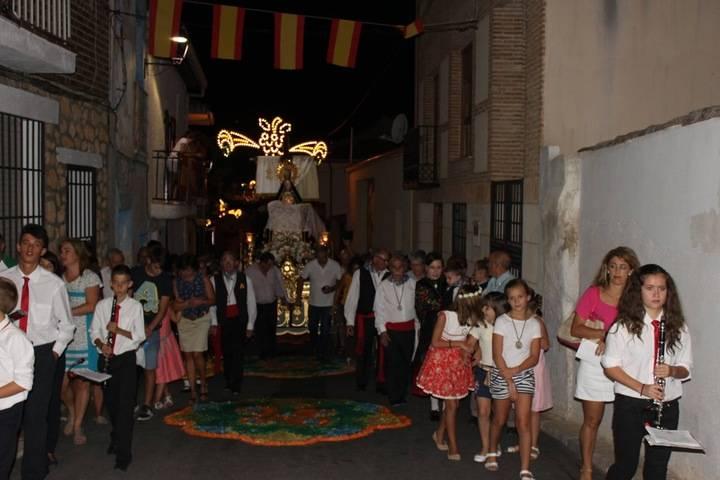 Escariche se prepara para vivir con alegría y devoción sus fiestas patronales en honor a la Virgen de las Angustias