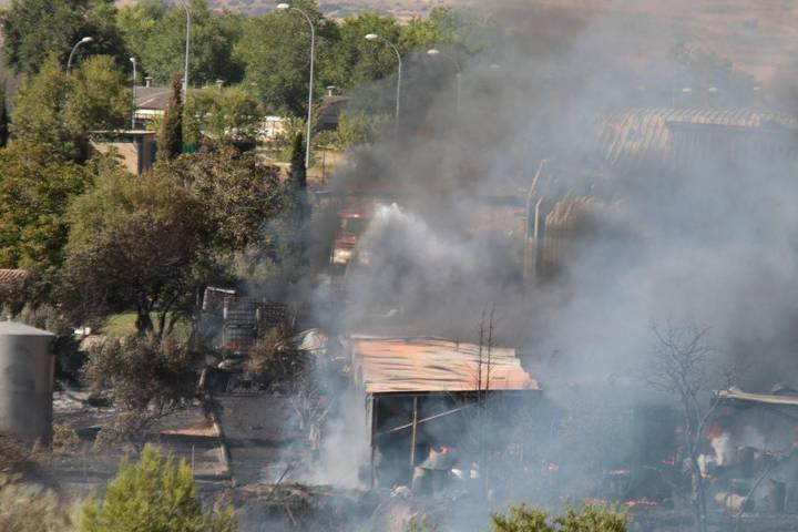 """Equo exige """"medidas urgentes"""" a la Junta para evitar fuegos como el de Chiloeches"""