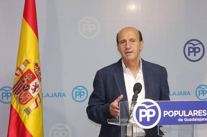 """Juan Pablo Sánchez: """"Rajoy ha ofrecido diálogo y acuerdos para la gobernabilidad de España frente a la cerrazón del PSOE"""""""