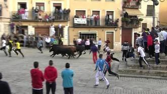 Suspendido el encierro por las calles de Brihuega