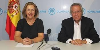 """Los diputados del PP por Guadalajara acusan al PSOE de """"anteponer intereses partidistas a los intereses de los españoles"""""""