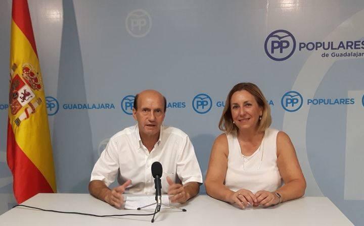 Los parlamentarios nacionales del PP por Guadalajara presidirán y serán portavoces de varias comisiones