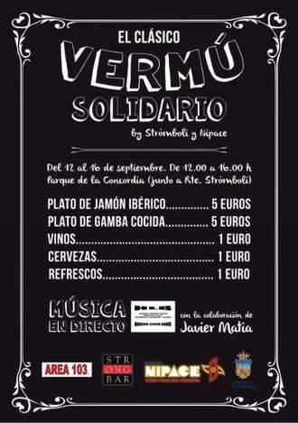 Fundación Nipace y Stromboli organizan el III Vermú Solidario en las Ferias de Guadalajara