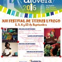 La biblioteca de Alovera celebrará el XIII Festival de Títeres