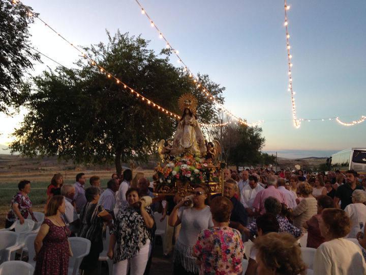 Illana celebra el nombramiento de Alcaldesa Perpetua de su patrona, la Virgen del Socorro